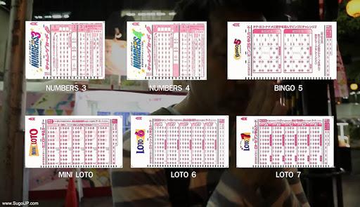 Japan Lottery หวยออนไลน์