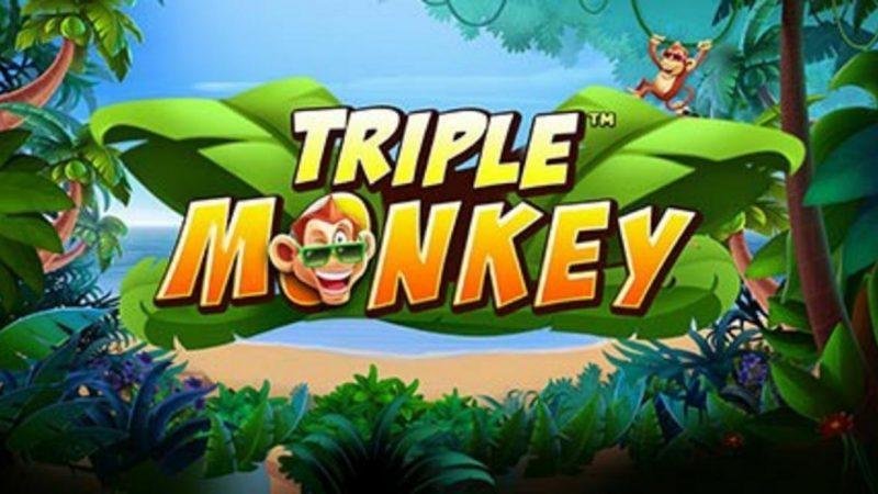 Triple Monkey ลุ้นรับกำไรกับเจ้าลิงป่วน 3 ตัวกับเกมSlot Online ค่ายPG SLOT