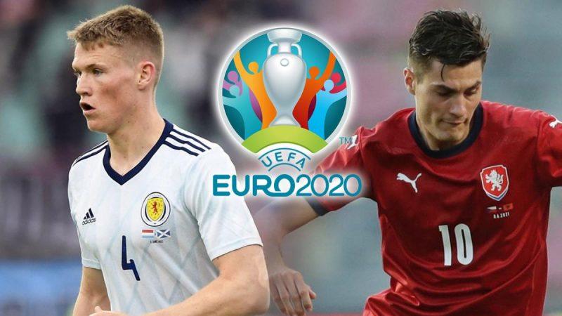 สกอตแลนด์ พบ เช็ก ให้ราคาอัตตราต่อรองฟุตบอลยูโร 2020 คู่ไหนจะเข้ามาลุ้นกัน